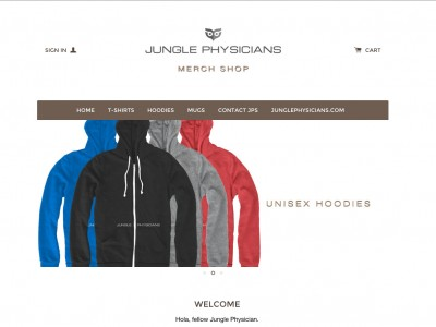 JUNGLE PHYSICIANS MERCH SHOP